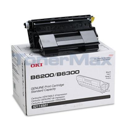 OKIDATA B6200/6300 TONER CARTRIDGE BLACK 10K